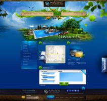 Imagine Pool and Landscape LLC - website by webdesigner1921