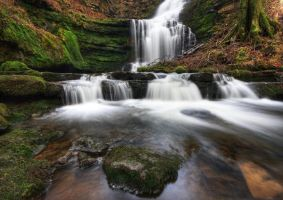 Scaleber Force Falls by DL-Photography