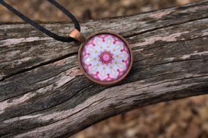 Claras Flower Pendant by funygirl38