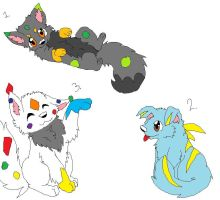 adoptable pups-closed by P0CKYY