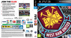 Custom WestHam FIFA13 Cover by SRLWilsonGraphics