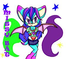 .:OC:.Missy the Bat by Fantailed-Hedgehog