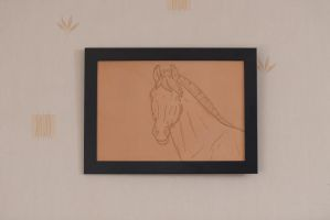 Horse Leather by Linealuna