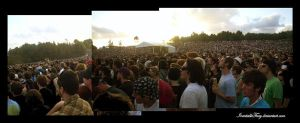SOUNDWAVE CROWD FOR ALEXIS by InevitableFury