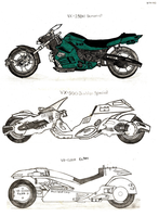 Motorcycle Designs by RedW0lf777sg