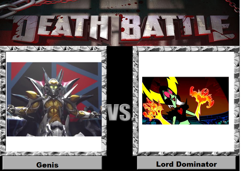 Genis vs Lord Dominator by YDKJGuy-Towers