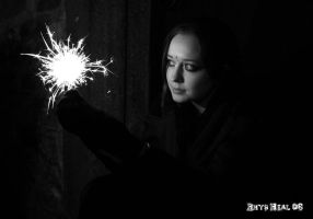 Hollye Andrews and Sparklers by hokum-deadfall