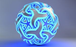 Glowing Star Ball by Dracu-Teufel666