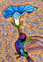 Holy Hummingbird by PaintMyWorldRainbow
