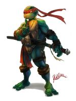 NINJA TURTLE by redcode77