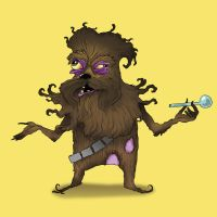 Chewie On Drugs by AsherBuckley