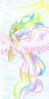 Bookmark with Celestia by Alice4444DM
