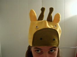 ...giraffe hat. by estranged-illusions