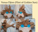 Venus Djinn (Flint of Golden Sun) by TadStone