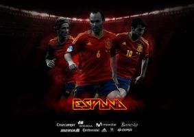Espana Football Wallpaper by thomasdyke