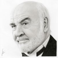 Sean Connery by hrm-n