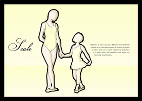 Ballet poster - Scale by karidyas