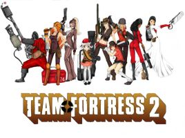 Meet the TF2 Females by Dispozition