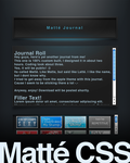 Matte CSS by spud100