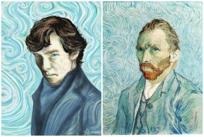 When Sherlock met Van Gogh by margaw