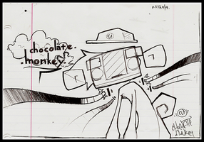 PHIL110 - ChocolateMonkey by Draciel56
