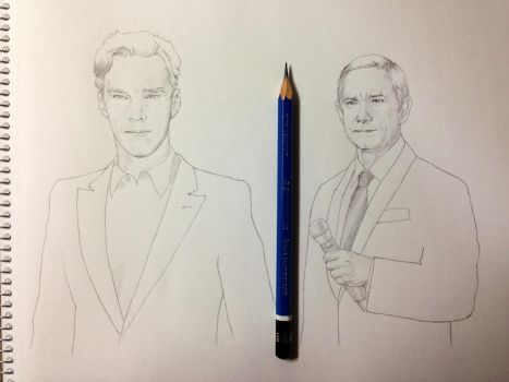 Benedict and Martin by 403shiomi