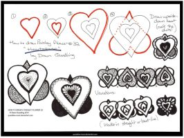 How 2 Draw Flower 32 Heartsease quaddles-roost by Quaddles-Roost