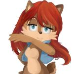 Sally acorn by angiethecat-chii
