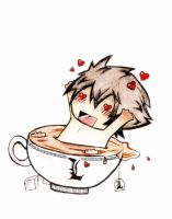L in a Tea Cup by yok0