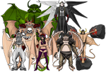 The Seven Great Demon Lords by JR19759