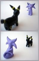 Wild Espeon/Umbreon Appeared! by unistar2000