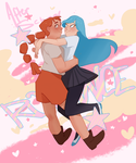 after school romance by pixiebee