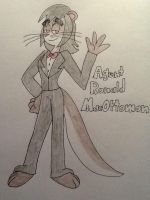 New TP OC .:Agent Ronald MacOttoman:. by CottonCatTailToony