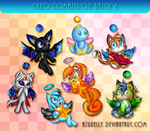 Chao commission batch 6 by Azurelly