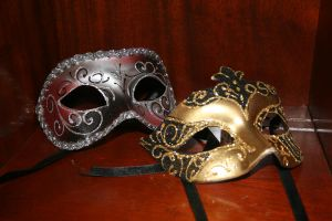 Masks from Venice by Malfoy-Mistress
