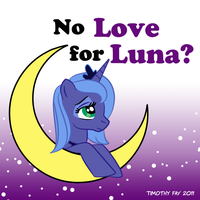 NO LOVE FOR LUNA? by Tim-Kangaroo