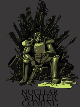 Nuclear Winter is Coming by loicgolvan