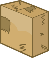 Box As A Zombie Vector by thedrksiren