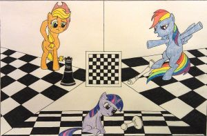 Checkmates - Color Version by xjuggernaughtx