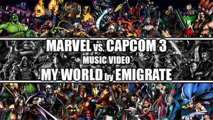 MvC3 Music Video - My World by Emigrate by Lwiis64