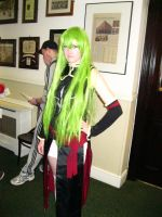 C.C. at Anime Dublin by Cairdiuil