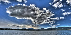 September Clouds by Muskeg
