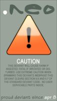 Warning ID by neographixx