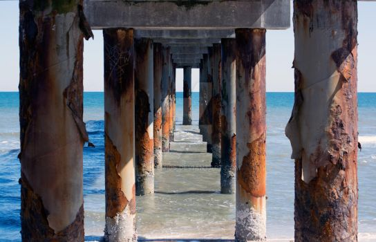 St. Augustine Pier by codemics