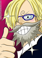 Sanji in love (Chapter 705) by TolkienOP