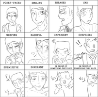 Zane's Expressions Meme by Black-Sparow
