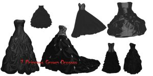 Princess Grown Dresses by farmerstochter