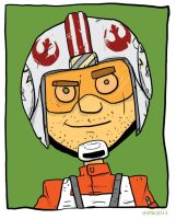 X is for X-Wing Pilot by striffle