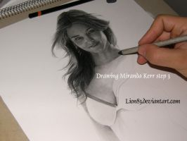 Drawing Miranda Kerr s3 by Per-Svanstrom
