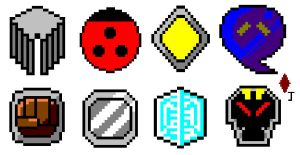 Pokemon Johto Badges by Jack-0f-Diam0ndz